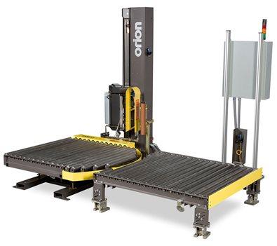 Conveyorized Twin Station Stretch Wrapper Flex CTS