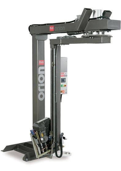 Rotary Tower Semi-Automatic Pallet Wrapper Flex RTD