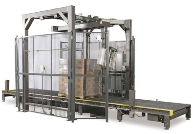 Rotary Tower Automatic Stretch Wrapping System MA-DX
