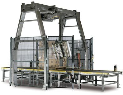Rotary Tower Automatic Stretch Wrapping System MA-X