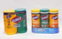 Clorox canisters