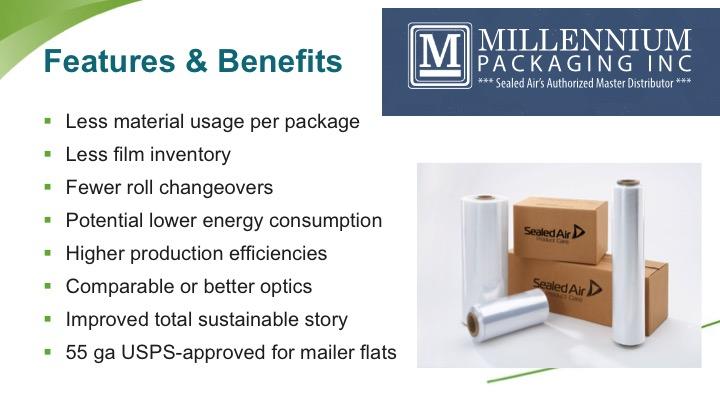 Distributors wanted – Millennium Packaging, Inc
